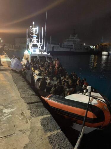 Migrante sviene a Messina